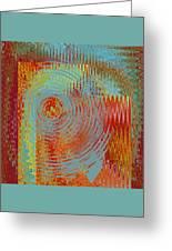 Rippling Colors No 2 Greeting Card