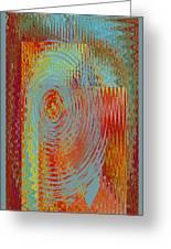 Rippling Colors No 3 Greeting Card