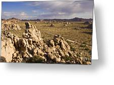 Rise Of Gneis Rock Formations Greeting Card