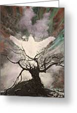 Rising From The Ash Greeting Card