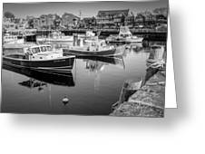 Risky Business After Five Bw Greeting Card