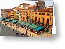 Ristorante Olivo Sas Piazza Bra Greeting Card