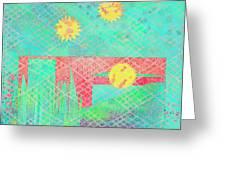 Rita's Meadow Greeting Card
