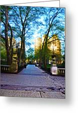 Rittenhouse Square Park Greeting Card