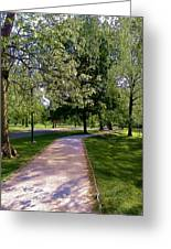 Ritter Park Paths Greeting Card