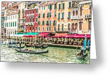 Riva Del Vin Greeting Card