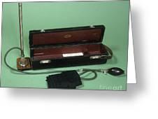 Riva-rocci Sphygmomanometer, Circa 1910 Greeting Card