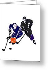 Rivalries Oilers And Kings Greeting Card