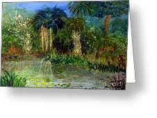 River At Riverbend Park In Jupiter Florida Greeting Card