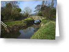 River Axe Somerset Greeting Card