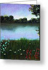 River Bank Greeting Card