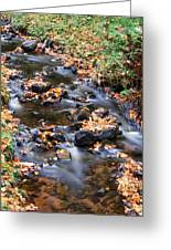 River Cascades Greeting Card