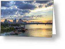 River City - D008587 Greeting Card