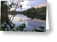 River Cruise Greeting Card