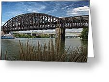 River Ferry Greeting Card