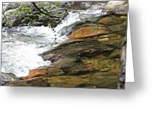 River Flow Greeting Card
