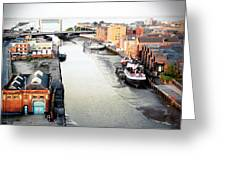 River Hull Greeting Card by Anthony Bean