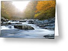 River In Tennessee Greeting Card by Nian Chen