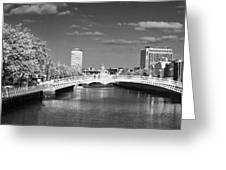 River Liffey - Dublin Greeting Card
