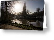 River Medway In Kent Greeting Card