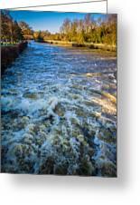 River Medway Kent Greeting Card
