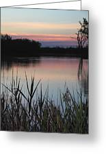 River Murray Sunset Series 2 Greeting Card