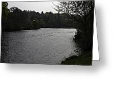 River Ness Near The Ness Islands In Inverness In Scotland Greeting Card