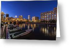 River Nights Greeting Card
