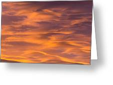River Of Clouds Greeting Card