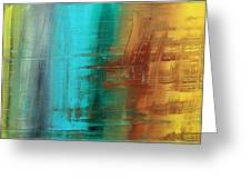 River Of Desire 21 By Madart Greeting Card