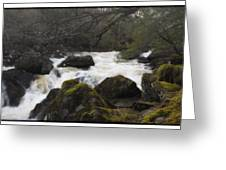 River In County Kerry Ireland Greeting Card