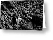 River Of The Stones  Greeting Card