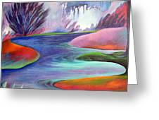 Blue Bayou Greeting Card
