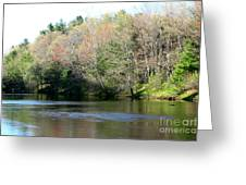 River Wind Greeting Card