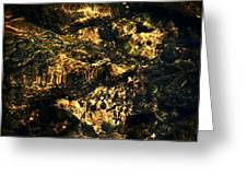 River Rock Reflections Greeting Card