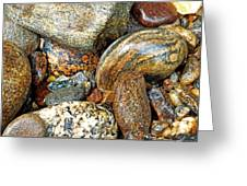 River Rocks 11 Greeting Card