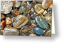 River Rocks 14 Greeting Card