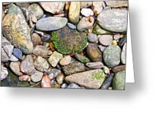 River Rocks 2 Greeting Card