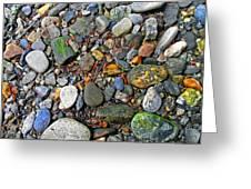 River Rocks 22 Greeting Card