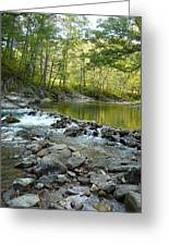 River Rocks Greeting Card