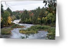 River Run Greeting Card