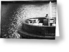 River Seat Greeting Card