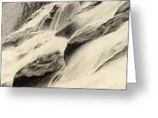 River Stream Greeting Card