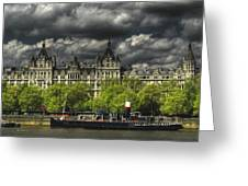 River Thames Greeting Card