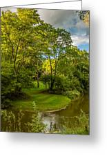 River Tranquility Greeting Card