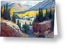 River Valley Greeting Card