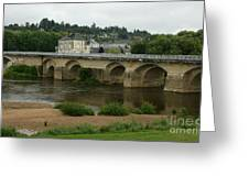 River Vienne - France Greeting Card
