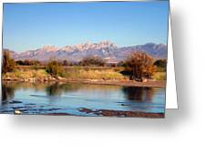 River View Mesilla Greeting Card