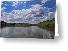 River View Greeting Card