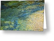 River Water 1 Greeting Card